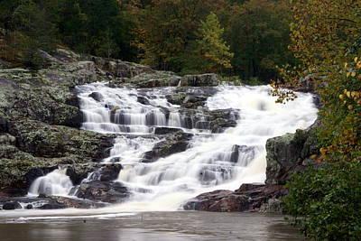 Ozark National Riverways Photograph - Rocky Falls by Marty Koch