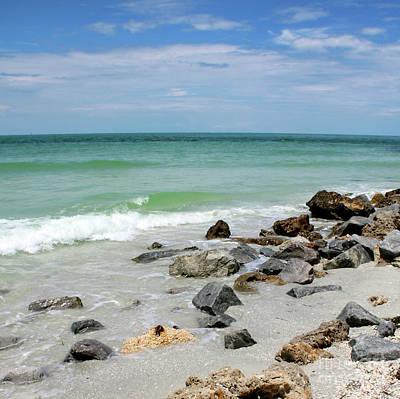 Photograph - Rocky Florida Beach by Carol Groenen