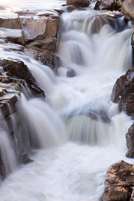 Photograph - Rocky Gorge Falls by Michael Hubley