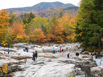 Photograph - Rocky Gorge In Albany Nh by Catherine Gagne