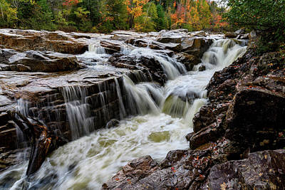 Photograph - Rocky Gorge Nh by Michael Hubley