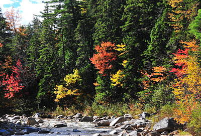 Photograph - Rocky Gorge - Swift River  by Brian Hoover