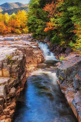 Photograph - Rocky Gorge - Vertical by Kim Carpentier