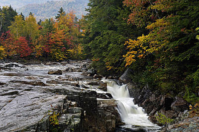 Photograph - Rocky Gorge Waterfall  - D006354 by Daniel Dempster