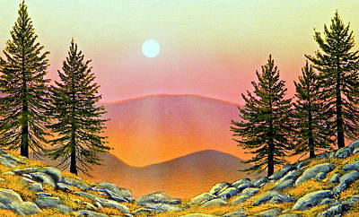 Painting - Rocky Heights by Frank Wilson