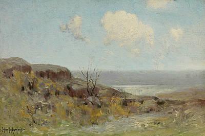 Painting - Rocky Hillside Quiet Pool by Julian Onderdonk