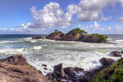 Photograph - Rocky Island by Nadia Sanowar