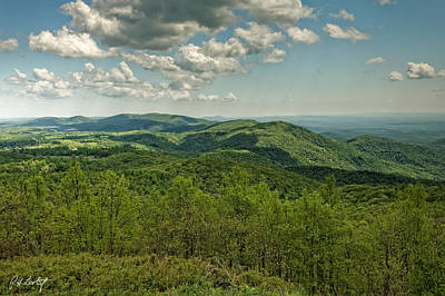 Blowing Rock Nc Photograph - Rocky Knob Overlook by Phill Doherty