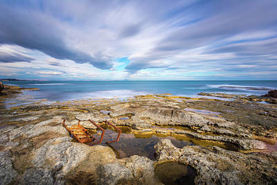 Photograph - Rocky Landscape by Gary Gillette