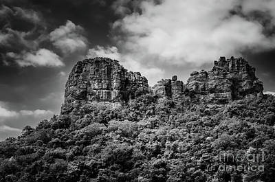 Angthong Photograph - Rocky Landscape by Michelle Meenawong