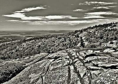 Photograph - Rocky Landscape by Raymond Earley
