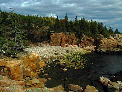 Maine Roads Photograph - Rocky Maine Coast by Juergen Roth