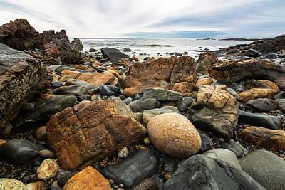 Photograph - Rocky Maine Coast by Natalie Rotman Cote