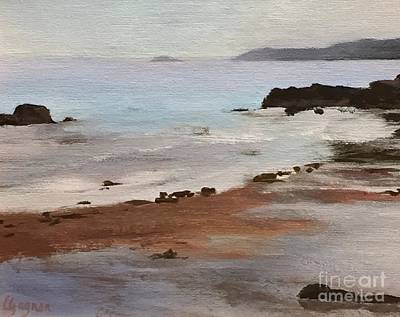 Painting - Rocky Neck Beach by Claire Gagnon