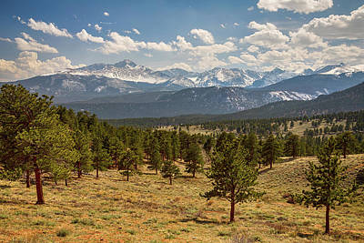 Photograph - Rocky Mountain Afternoon High by James BO Insogna