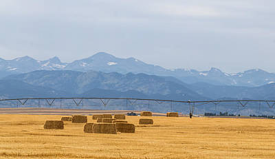 Photograph - Rocky Mountain Agriculture Panorama Pt 2 by James BO Insogna