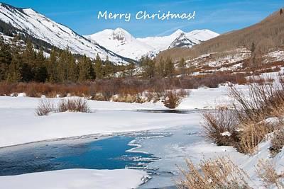 Photograph - Rocky Mountain Christmas by Cascade Colors