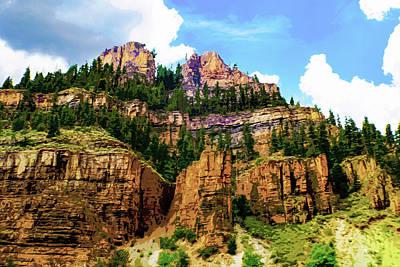 Digital Art - Rocky Mountain - Colorado by Susan Vineyard