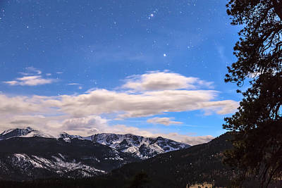 Photograph - Rocky Mountain Evening View by James BO Insogna