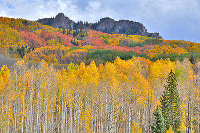 Photograph - Rocky Mountain Fall by Ray Mathis