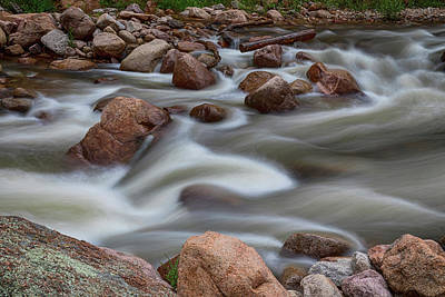 Photograph - Rocky Mountain Flow by James BO Insogna