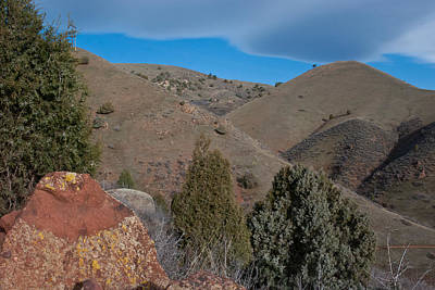 Photograph - Rocky Mountain Foothills by Cascade Colors