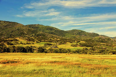 Photograph - Rocky Mountain Foothills by Loc