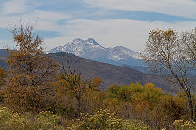 Photograph - Rocky Mountain Foothills View by James BO Insogna
