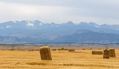 Photograph - Rocky Mountain Front Range Agriculture Panorama Pt1 by James BO  Insogna