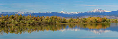 Photograph - Rocky Mountain Front Range Autumn Panorama by James BO Insogna
