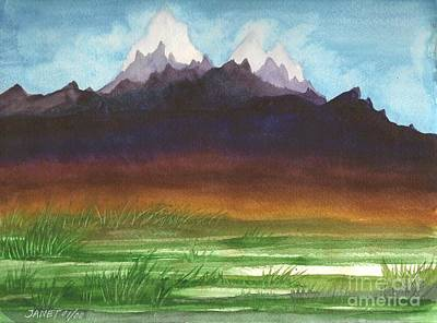 Painting - Rocky Mountain High 2000 by Janet Hinshaw