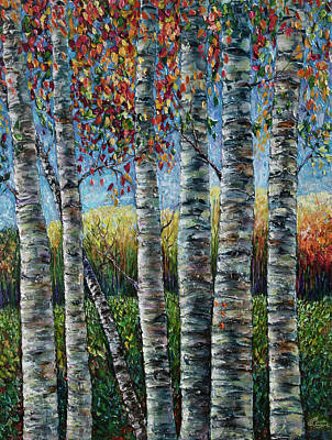 Painting - Rocky Mountain High by Lena  Owens OLena Art