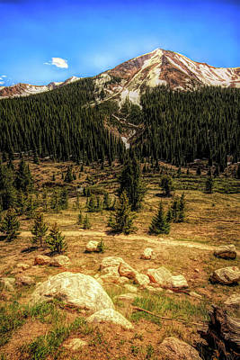 Photograph - Rocky Mountain High by Judy Vincent