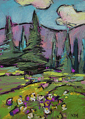 Painting - Rocky Mountain High by Karen Margulis