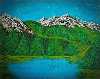Mixed Media - Rocky Mountain High Number Four by Scott Haley