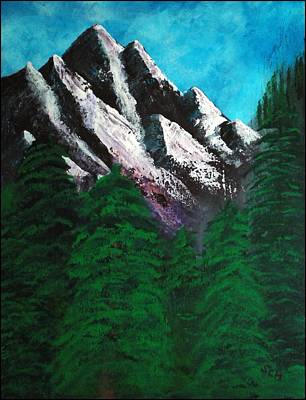 Rocky Mountain High Number One Point Five Art Print by Scott Haley