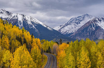 Photograph - Rocky Mountain Hwy by Rand