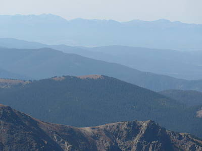 Rocky Mountain Layers In Colorado Art Print