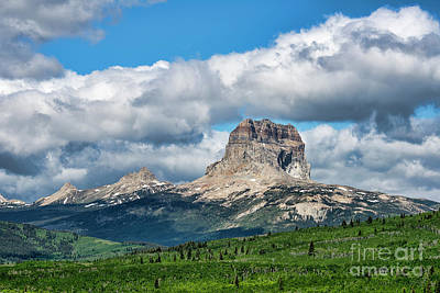 Photograph - Rocky Mountain Mesa Canada by David Arment