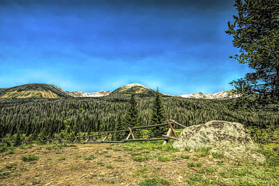 Photograph - Rocky Mountain National Park 4 by Judy Vincent