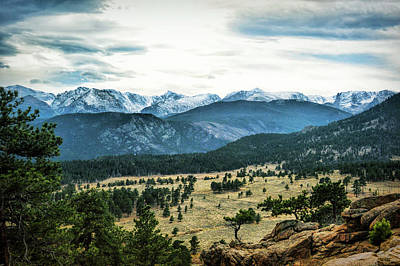 Photograph - Rocky Mountain National Park by Ann Powell
