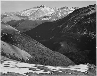 Rocky Mountains Digital Art - Rocky Mountain National Park by Georgia Fowler