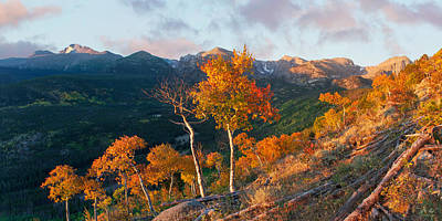 Photograph - Rocky Mountain National Park Autumn by Aaron Spong