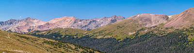 Photograph - Rocky Mountain National Park by Bill Gallagher