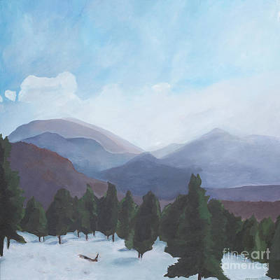 Painting - Rocky Mountain National Park by Brian M White