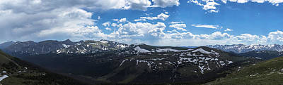 Photograph - Rocky Mountain National Park Gigapan 1 by John McGraw