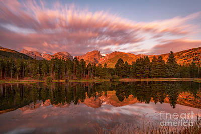 Photograph - Rocky Mountain National Park Sunrise by Ronda Kimbrow
