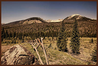 Photograph - Rocky Mountain National Park Vintage by Judy Vincent