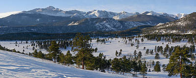 Photograph - Rocky Mountain National Park - Winter by Aaron Spong