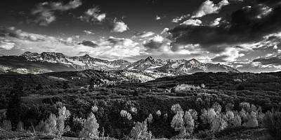 Photograph - Rocky Mountain Panorama by Andrew Soundarajan